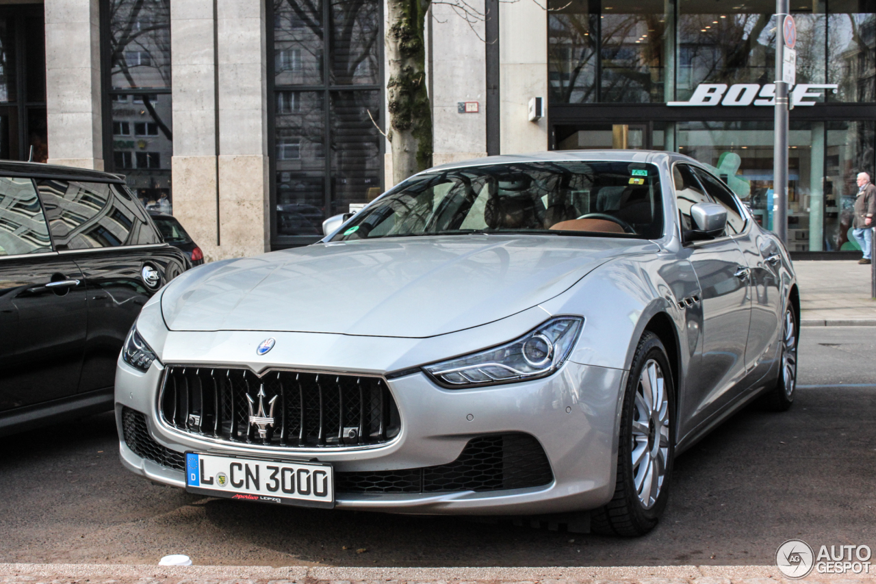 Maserati Ghibli 2013 9