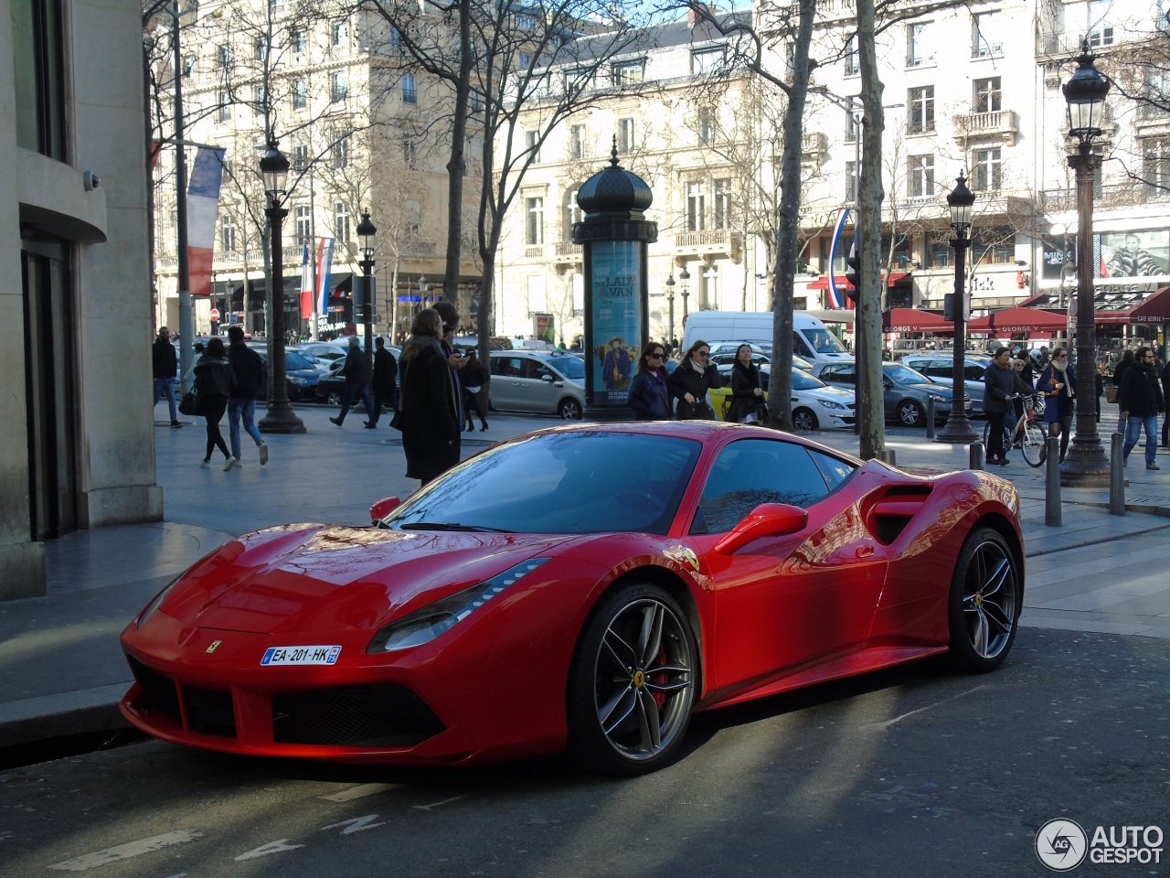 ferrari 488 gtb 12 mars 2016 autogespot. Black Bedroom Furniture Sets. Home Design Ideas