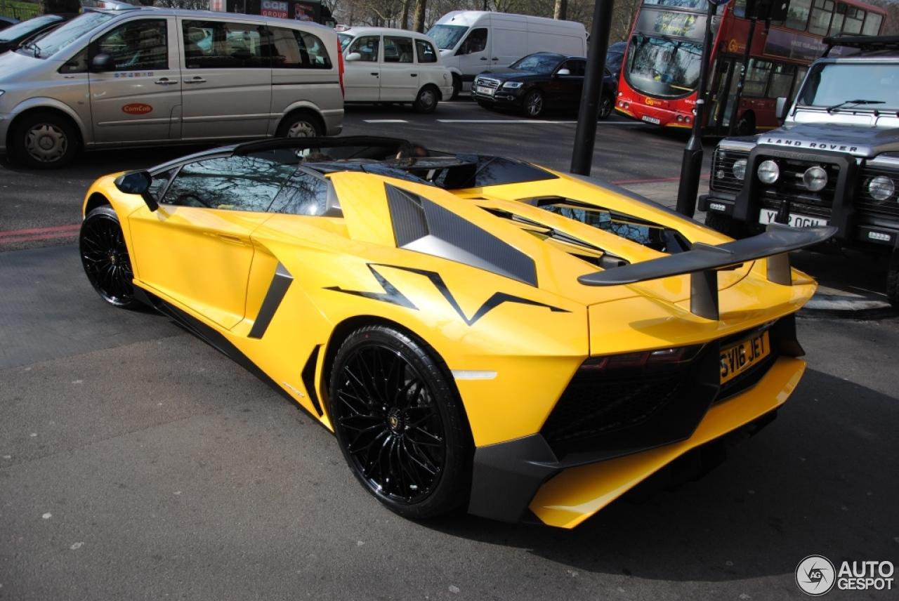 Lamborghini Aventador Lp750 4 Superveloce Roadster 12