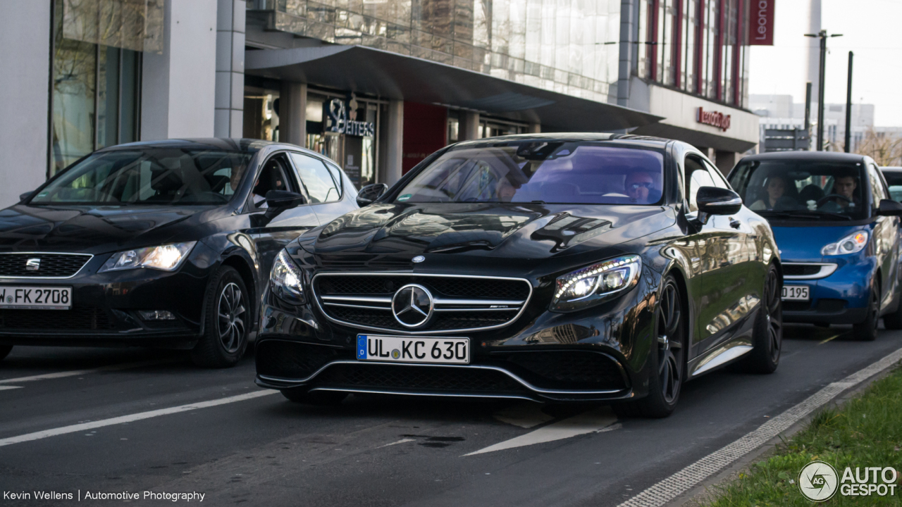 Mercedes-Benz S 63 AMG Coupé C217 1