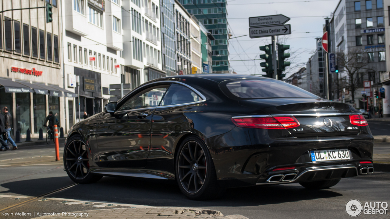 Mercedes-Benz S 63 AMG Coupé C217 10