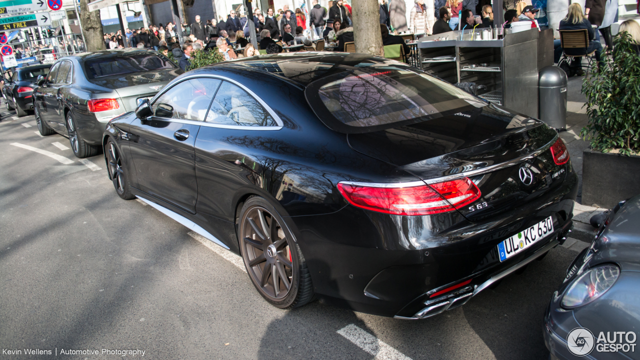 Mercedes-Benz S 63 AMG Coupé C217 2