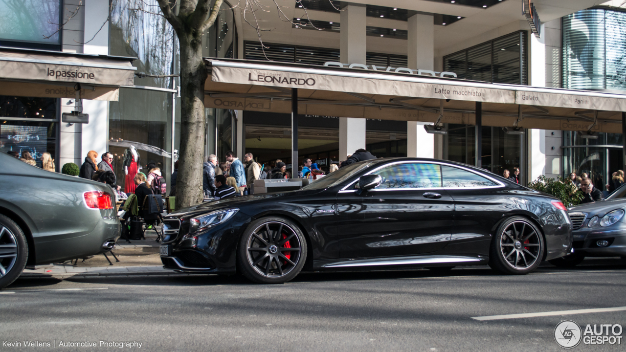 Mercedes-Benz S 63 AMG Coupé C217 3