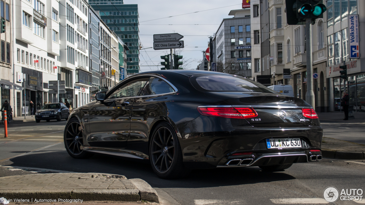 Mercedes-Benz S 63 AMG Coupé C217 4