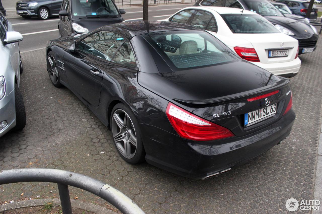Mercedes-Benz SL 63 AMG R231 1