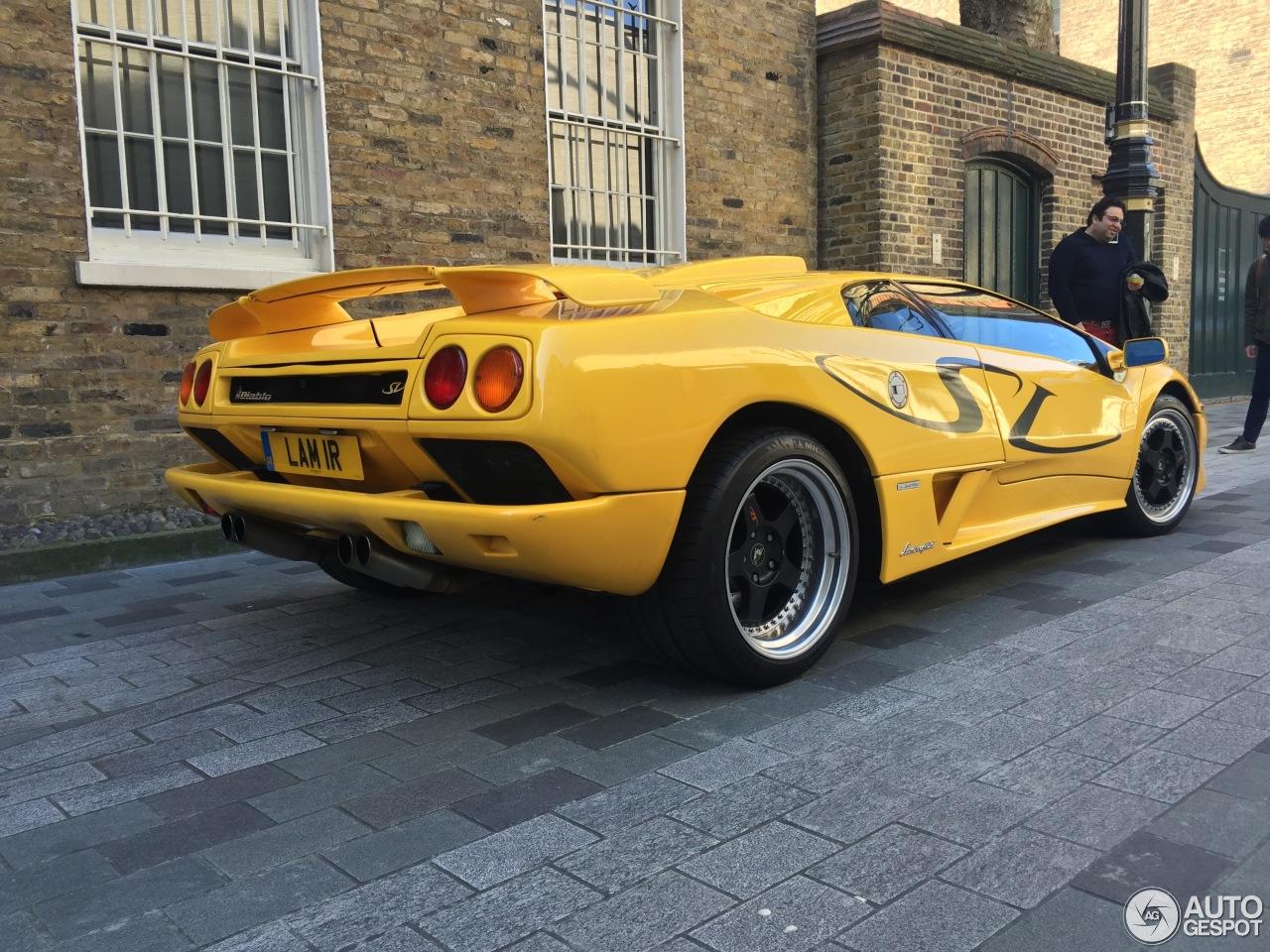 Lamborghini Diablo Sv 13 March 2016 Autogespot