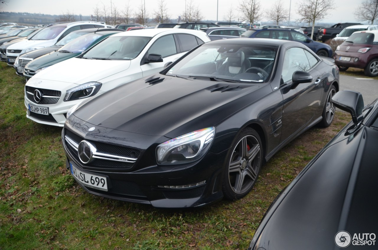 Mercedes benz sl 63 amg r231 2look edition 13 march 2016 for Mercedes benz sl 63 amg