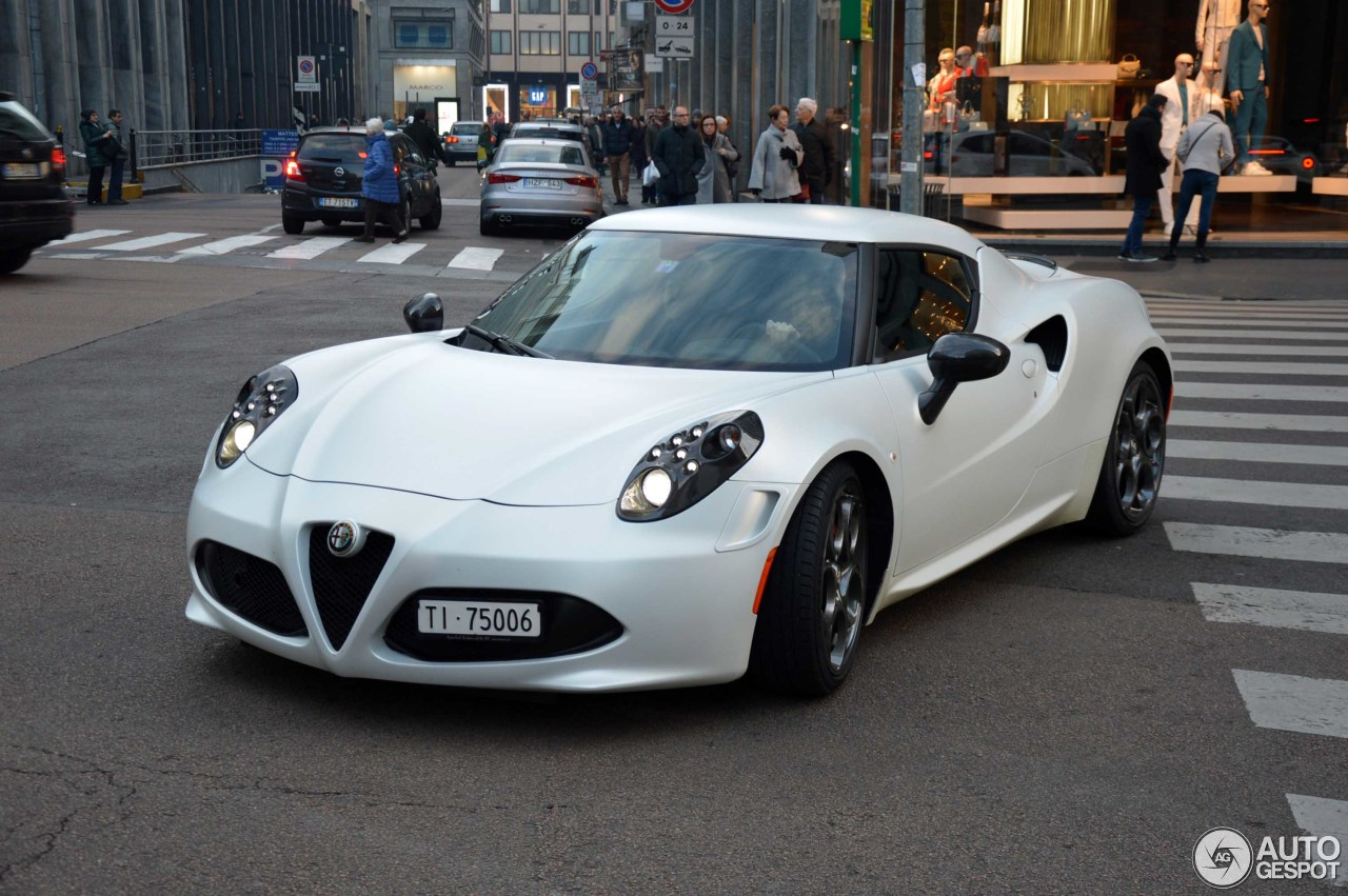 alfa romeo 4c launch edition 14 march 2016 autogespot. Black Bedroom Furniture Sets. Home Design Ideas