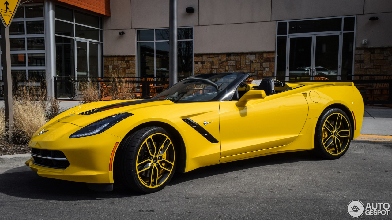 chevrolet corvette c7 stingray convertible 14 march 2016 autogespot. Black Bedroom Furniture Sets. Home Design Ideas