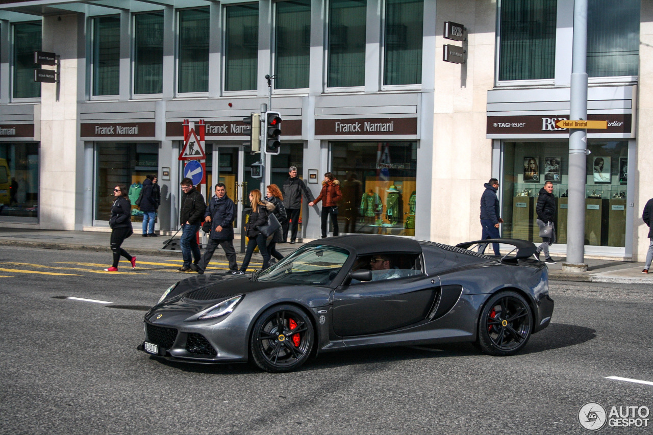 lotus exige 350 sport 14 mars 2016 autogespot. Black Bedroom Furniture Sets. Home Design Ideas