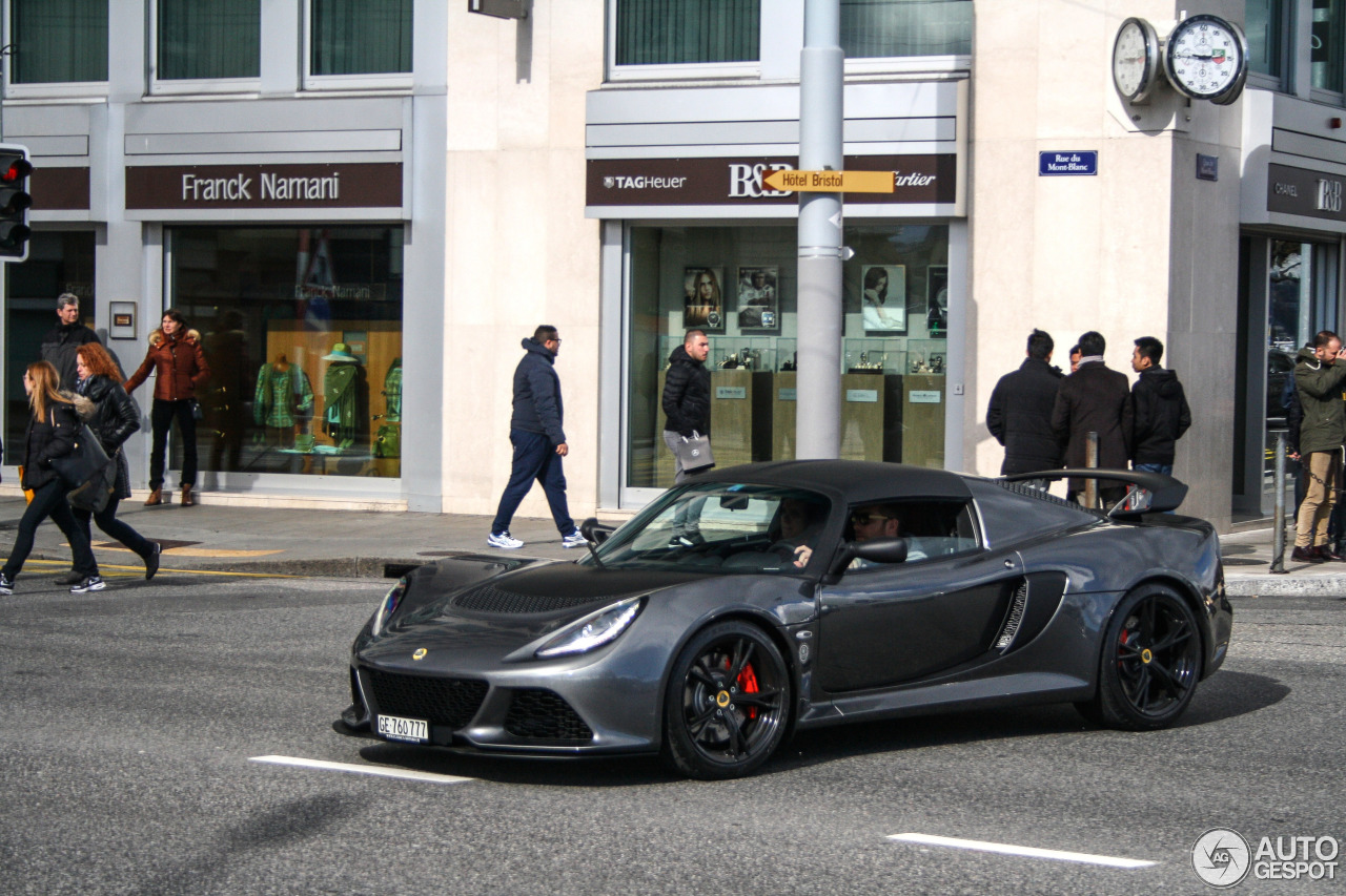 lotus exige 350 sport 14 mrz 2016 autogespot. Black Bedroom Furniture Sets. Home Design Ideas
