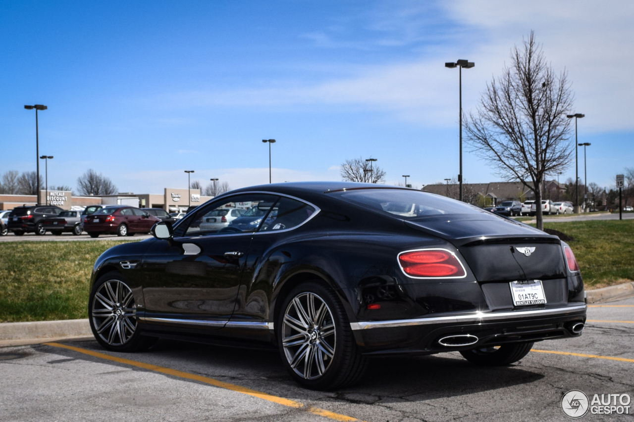 Bentley Continental GT Speed 2016  16 March 2016  Autogespot