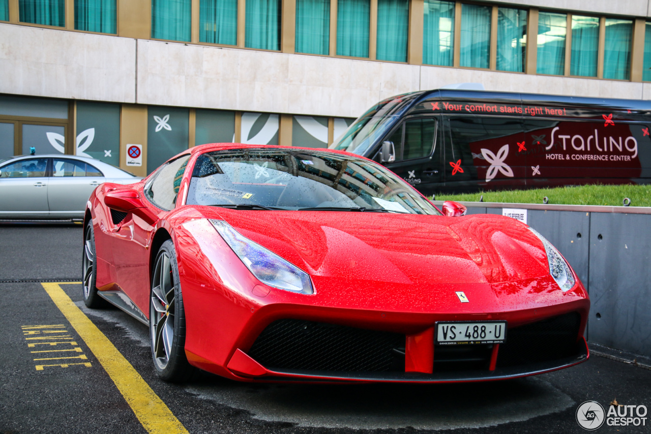 ferrari 488 spider 16 mars 2016 autogespot. Black Bedroom Furniture Sets. Home Design Ideas
