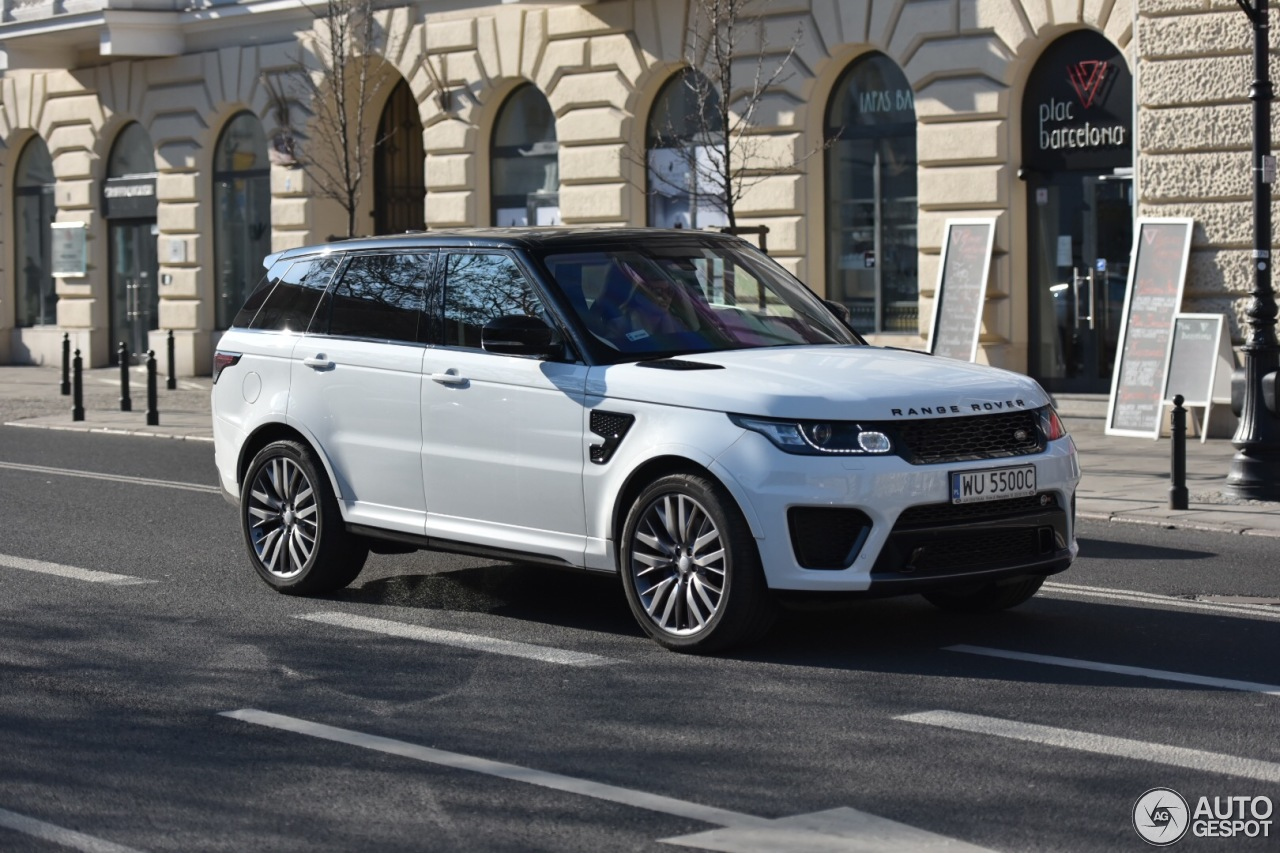 Auto Karta Barcelona.Land Rover Range Rover Sport Svr 16 Kovo 2016 Autogespot