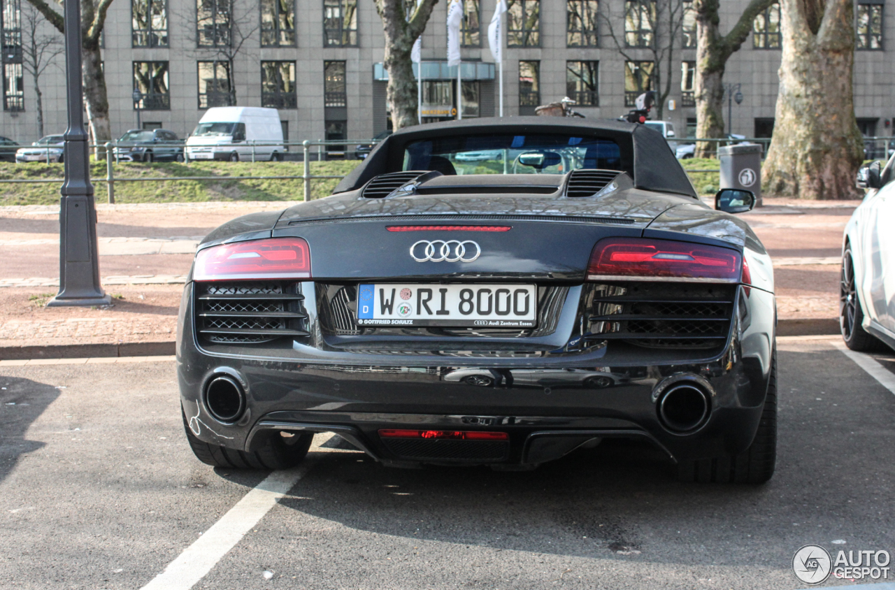 Audi R8 V10 Spyder 2013 3