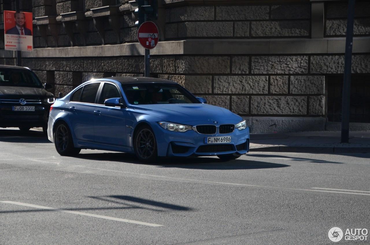 BMW M3 F80 Sedan 2014 1