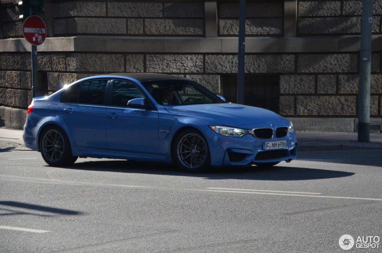 BMW M3 F80 Sedan 2014 2