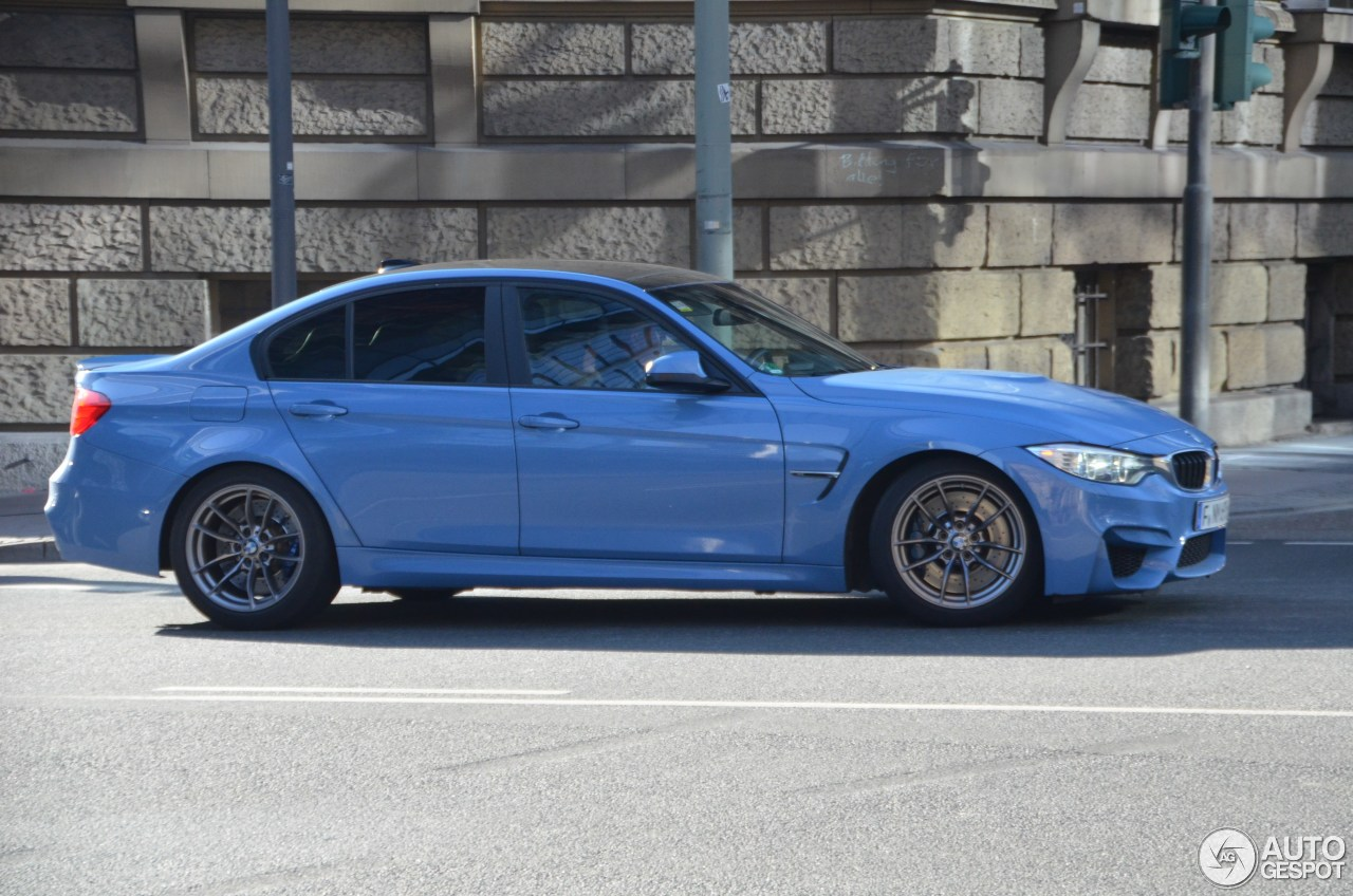 BMW M3 F80 Sedan 2014 3