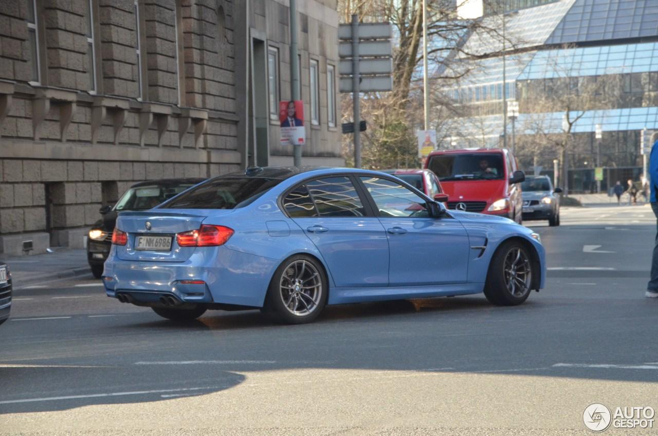 BMW M3 F80 Sedan 2014 4