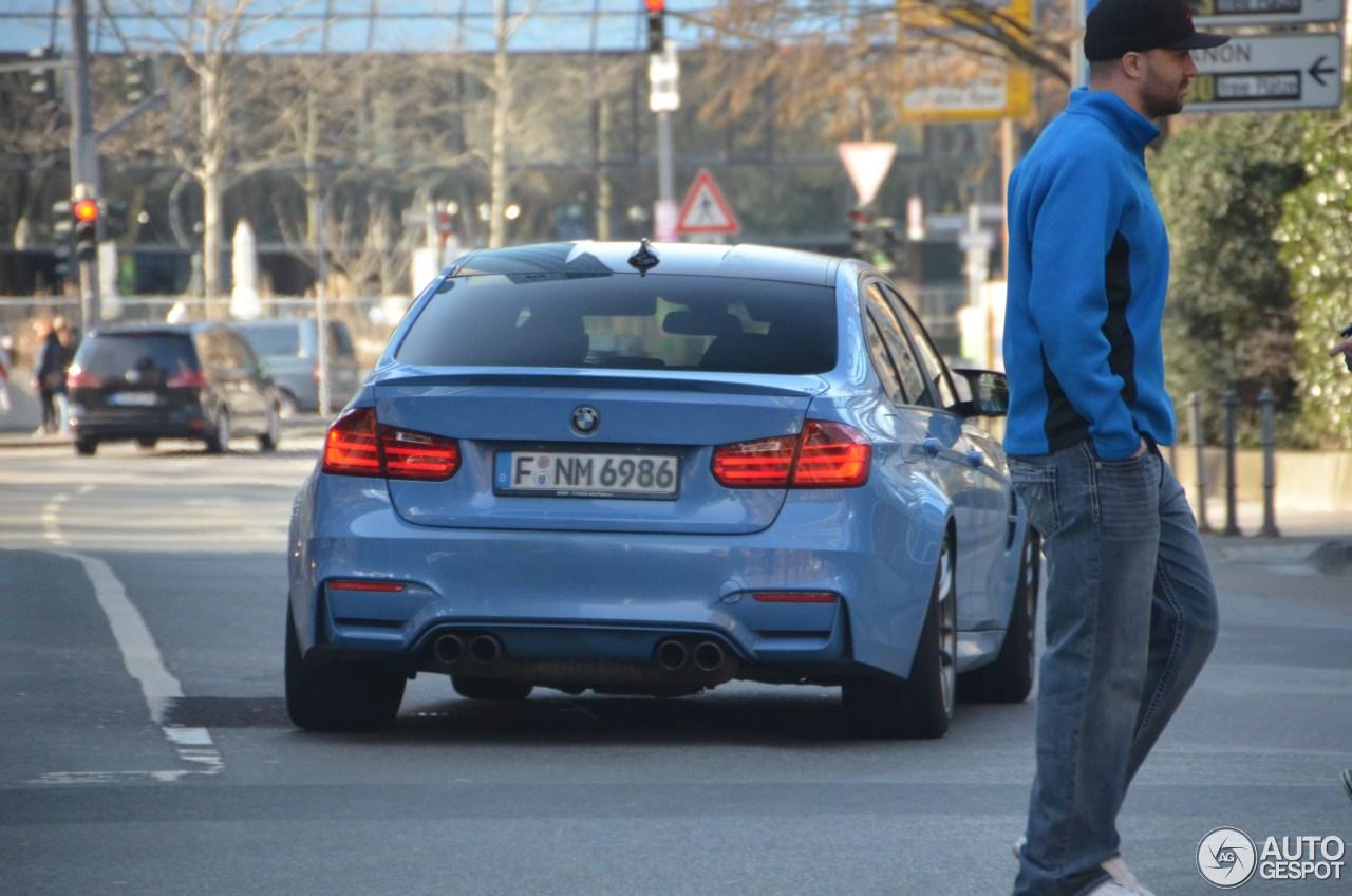 BMW M3 F80 Sedan 2014 6