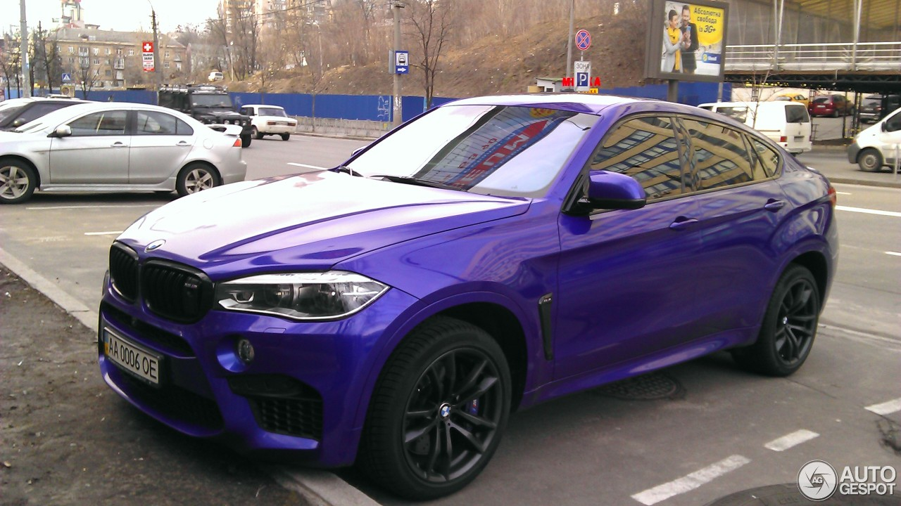 BMW X6 M F86 - 17 March 2016 - Autogespot