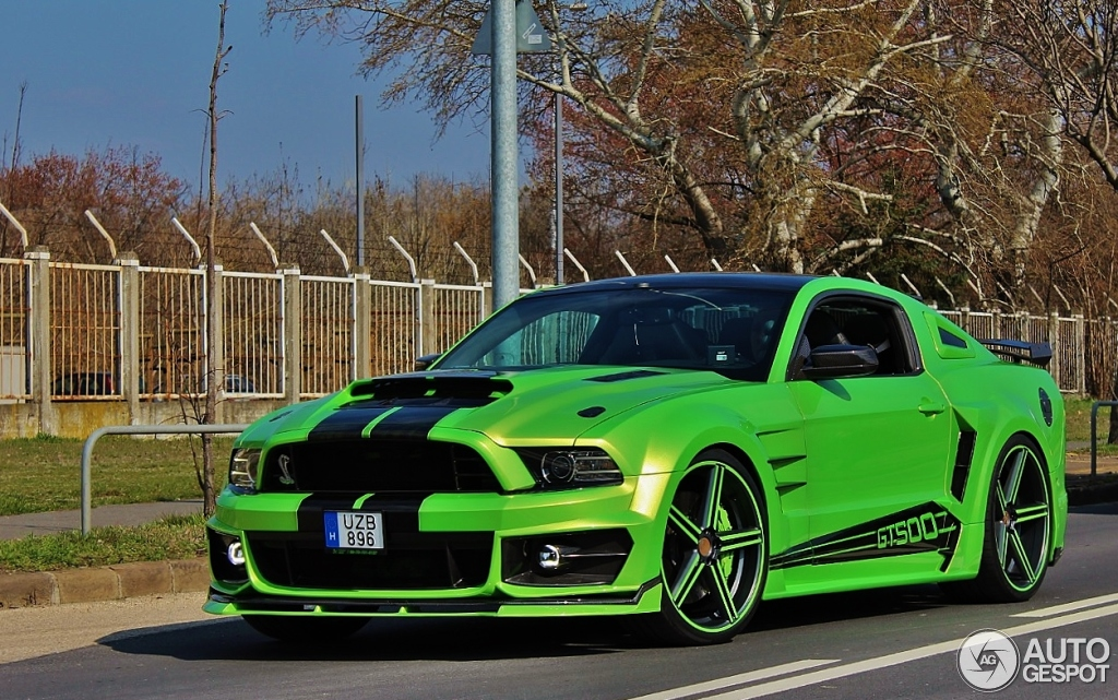 Ford Mustang Df Tuning Shelby Gt500 18 March 2016