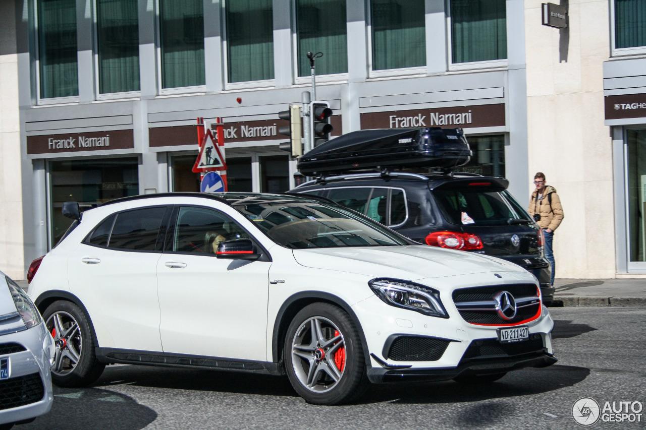 Mercedes-Benz GLA 45 AMG Edition 1 - 18 mars 2016 - Autogespot