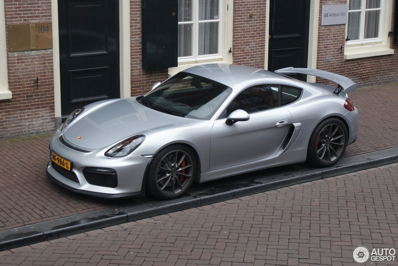 porsche 981 cayman gt4 18 march 2016 autogespot. Black Bedroom Furniture Sets. Home Design Ideas