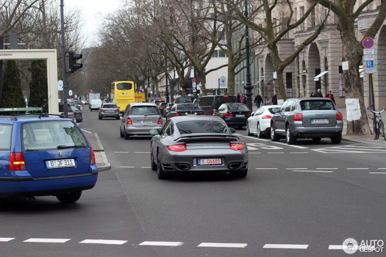 Porsche 997 Turbo MkII 7