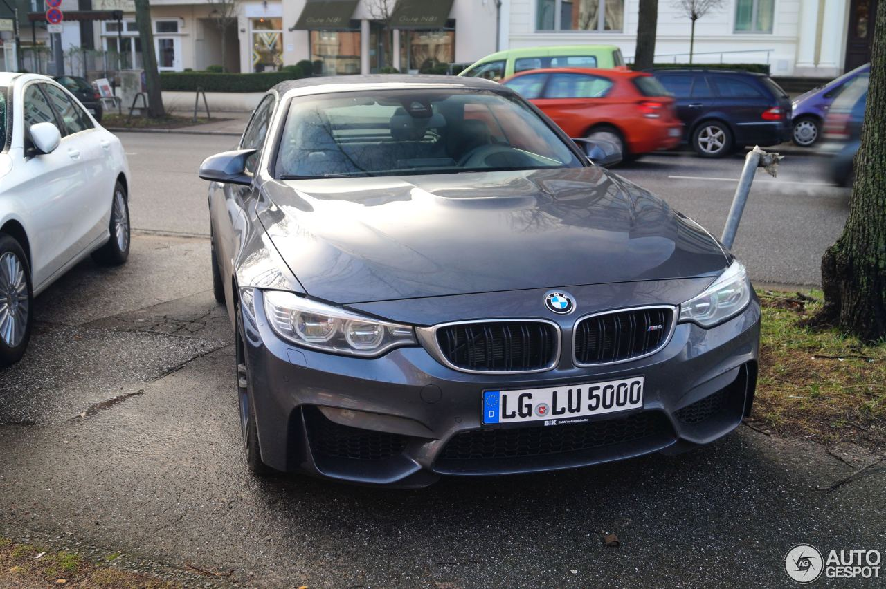 BMW M4 F83 Convertible 6