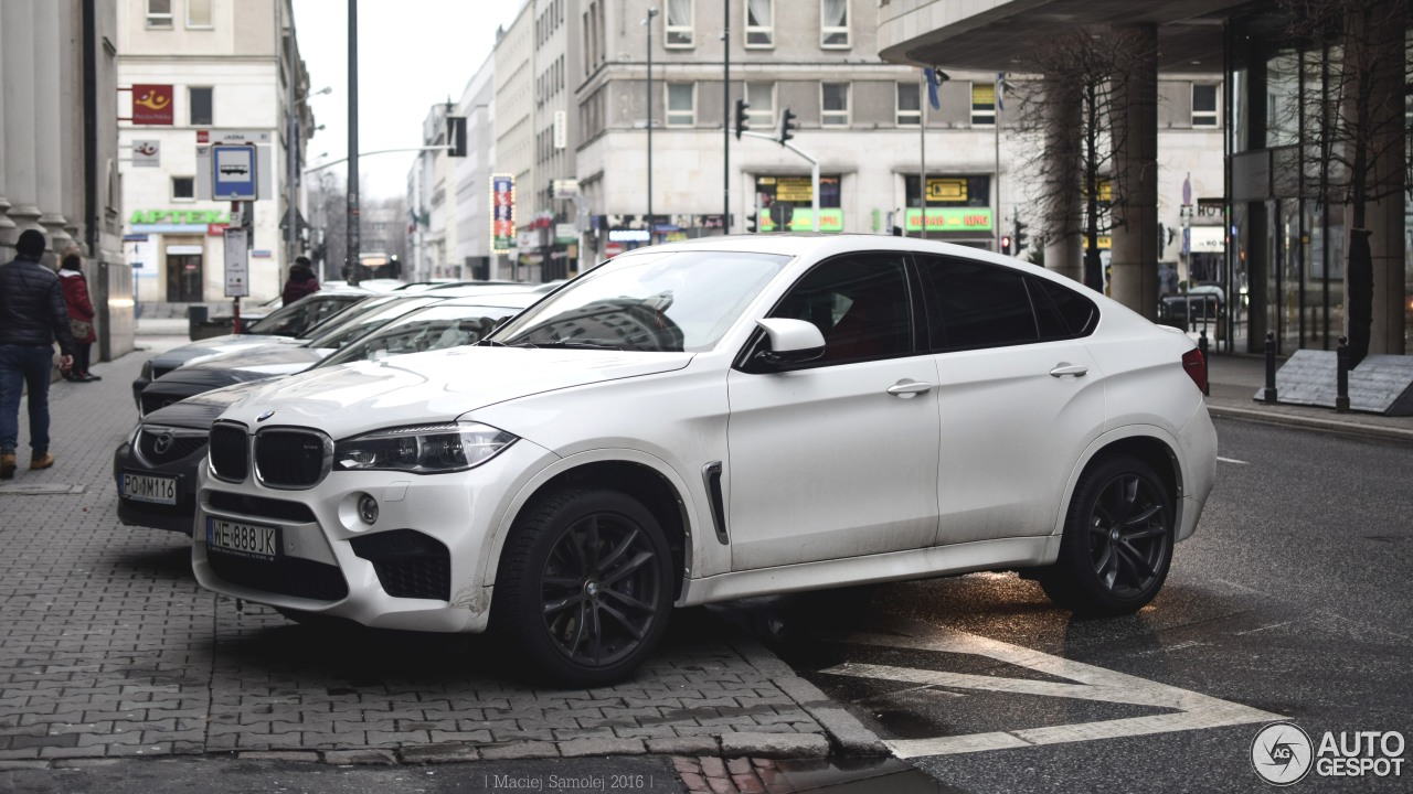bmw x6 m f86 19 mars 2016 autogespot. Black Bedroom Furniture Sets. Home Design Ideas