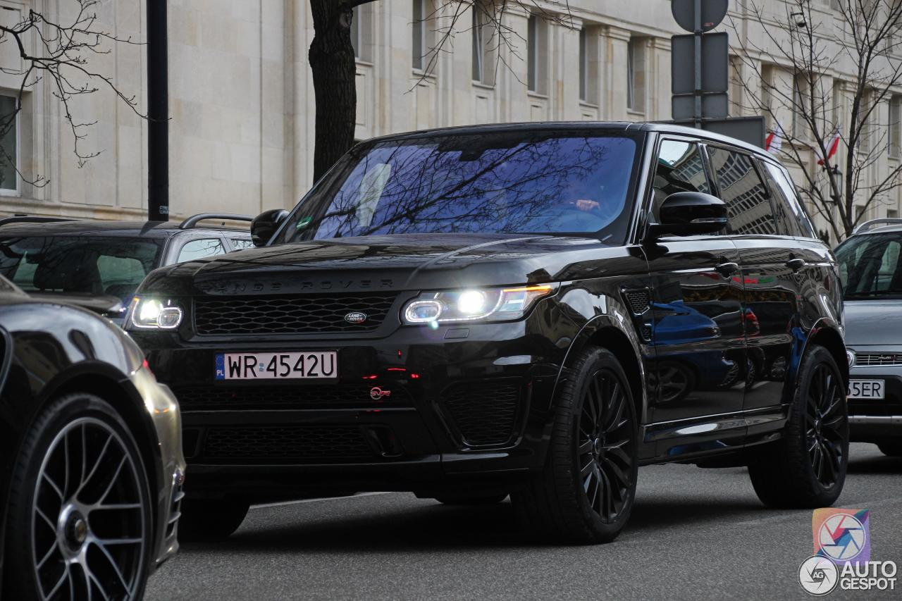 Land Rover Range Rover Sport Svr 19 March 2016 Autogespot
