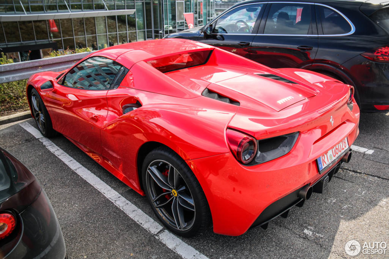 Ferrari 488 Spider 20 March 2016 Autogespot