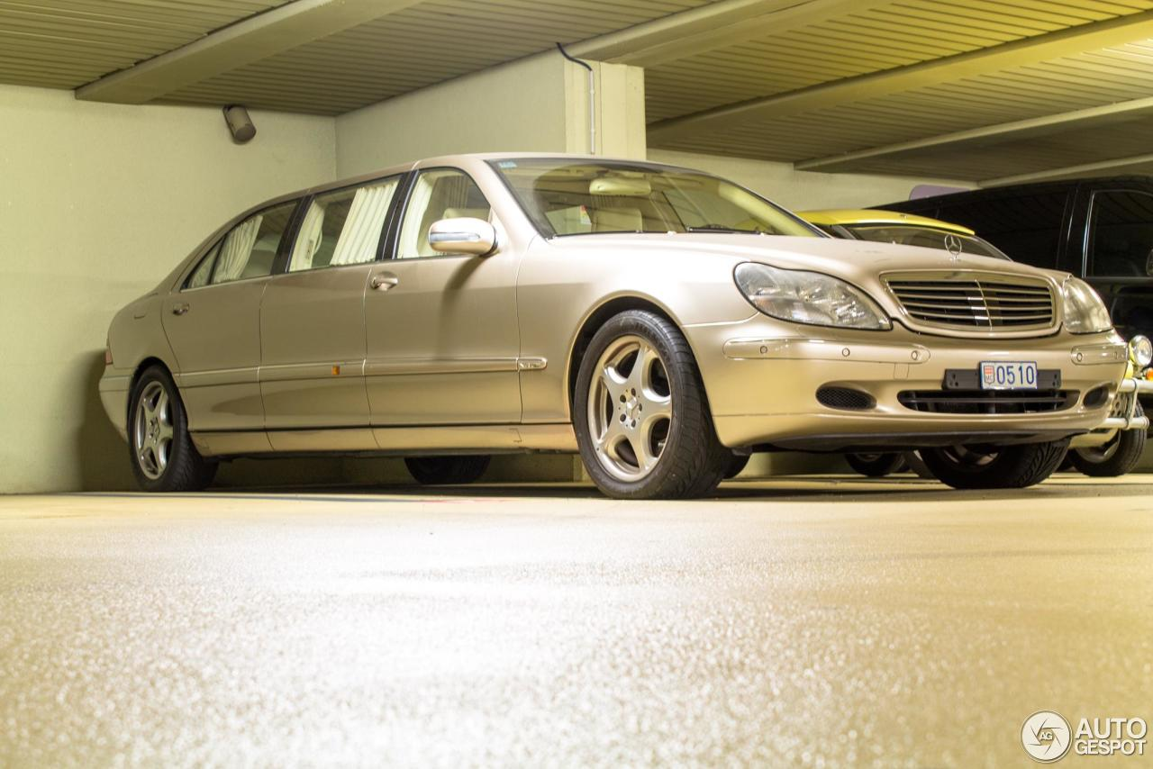 Mercedes benz s 600 pullman 20 march 2016 autogespot for Mercedes benz pullman