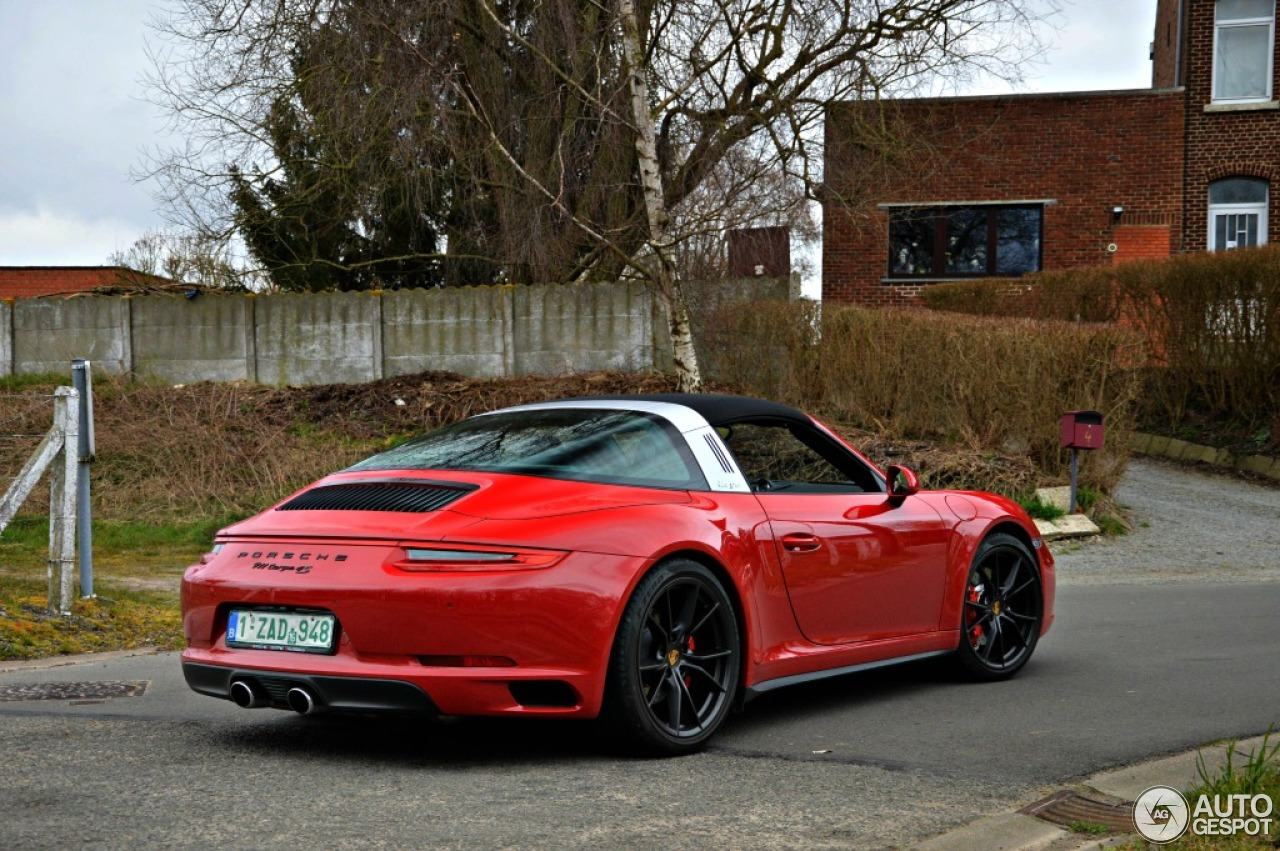 Porsche 991 Targa 4s Mkii 20 March 2016 Autogespot