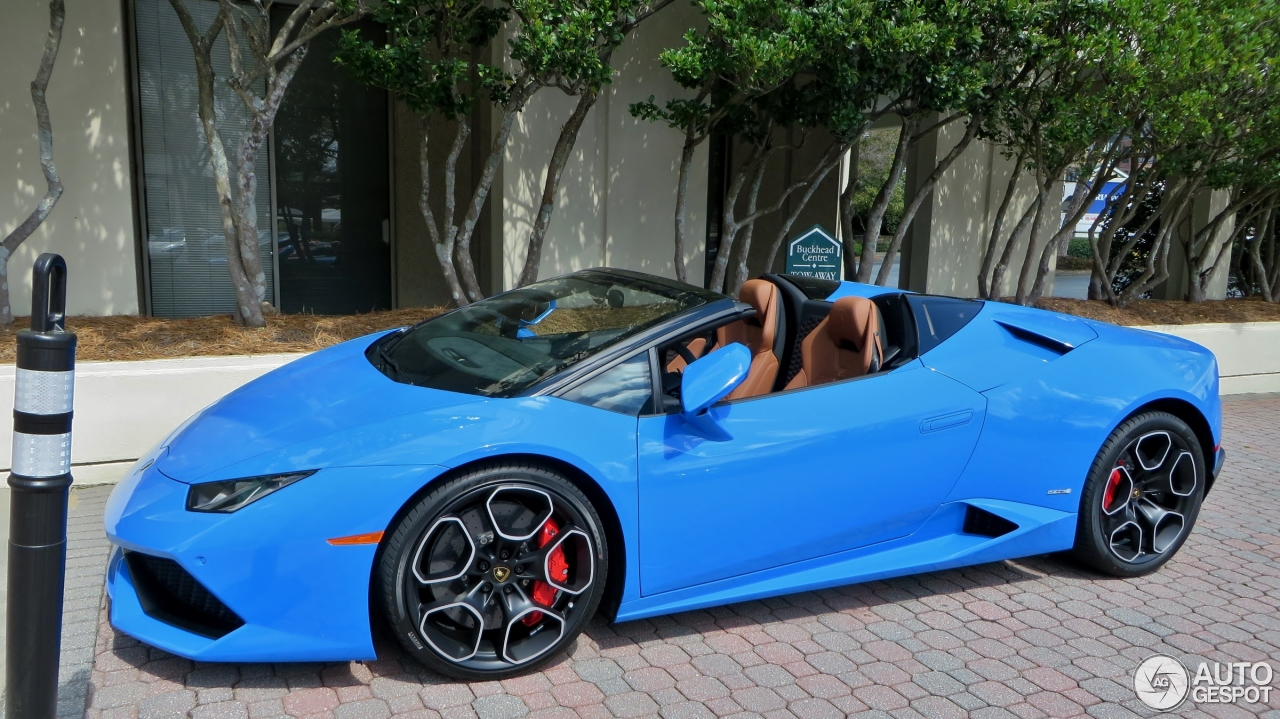 Lamborghini Hurac 225 N Lp610 4 Spyder 21 March 2016