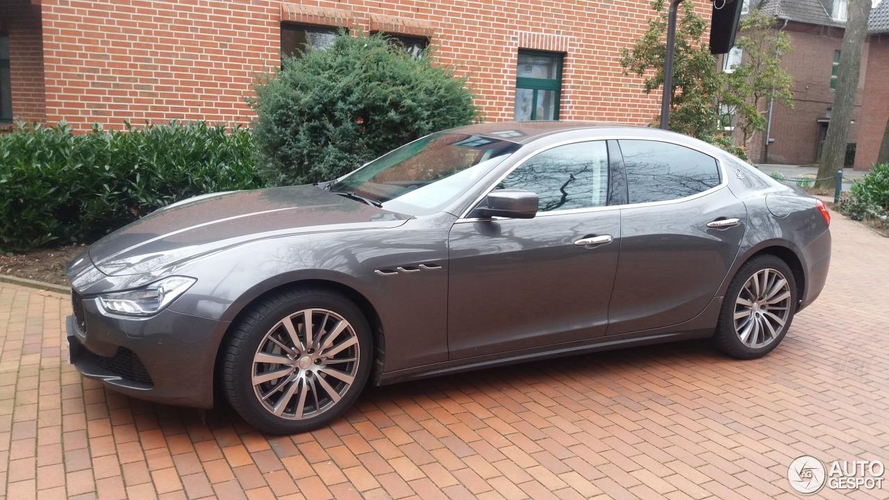 Maserati Ghibli 2013 7