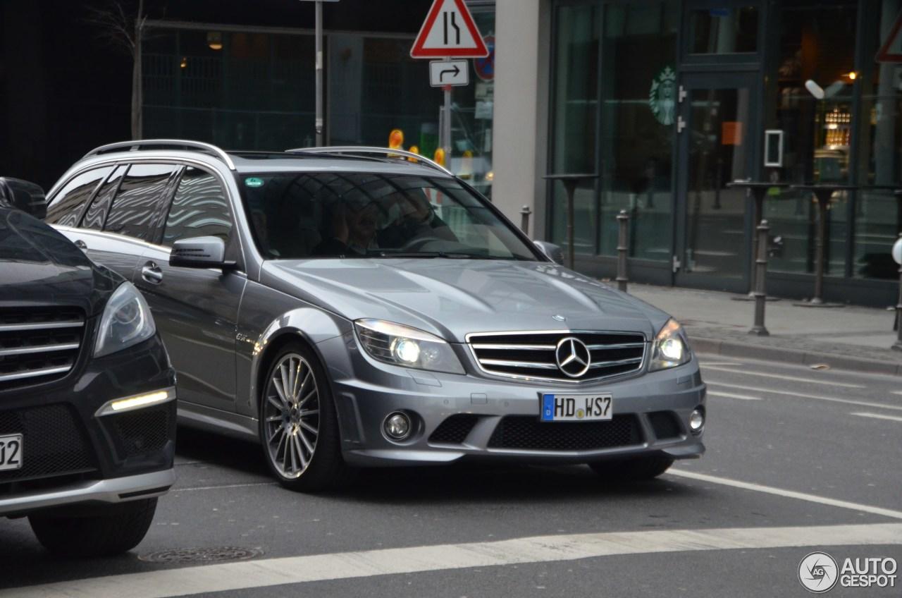 Mercedes-Benz C 63 AMG Estate 1