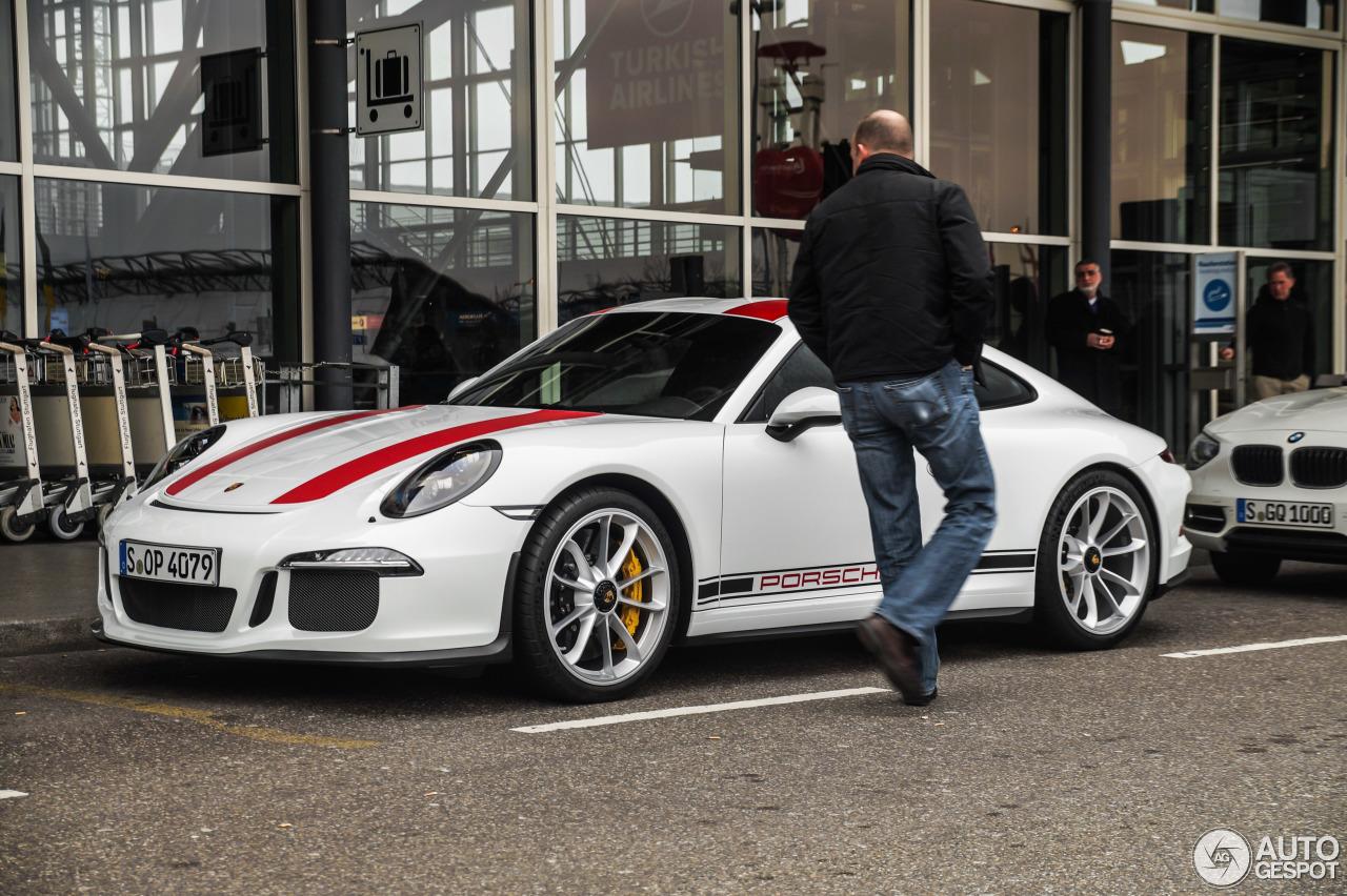 Porsche 911 R - 22 mars 2016 - Autogespot