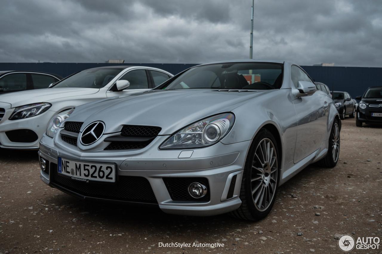 Mercedes benz slk 55 amg r171 2007 23 march 2016 for 2016 amg slk55 mercedes benz