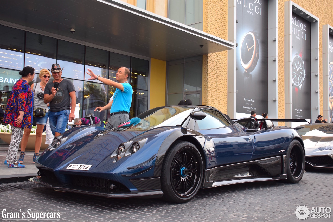 Pagani Zonda 760 Ag Roadster 23 March 2016 Autogespot