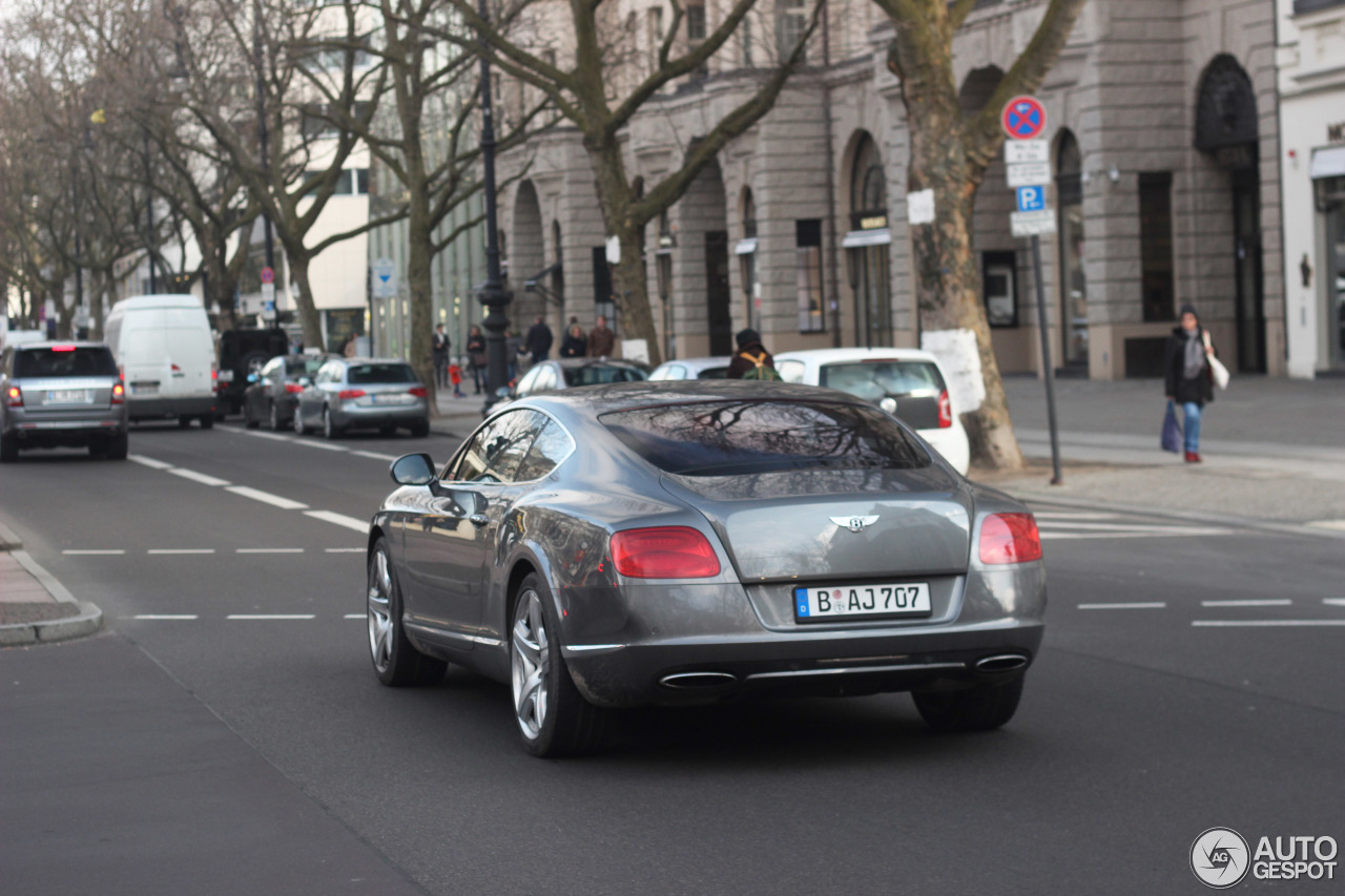 Bentley Continental GT 2012 3