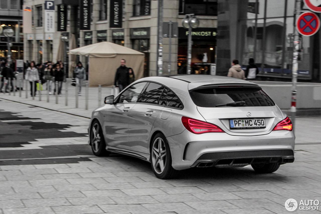 Mercedes benz cla 45 amg shooting brake 25 march 2016 for Mercedes benz cla 2012