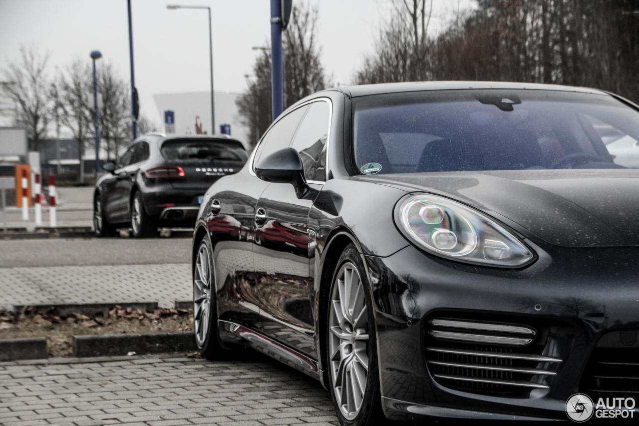 Porsche Panamera Turbo S Executive Mkii 25 March 2016