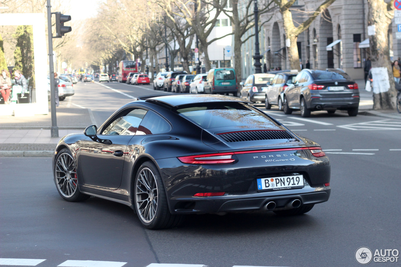 porsche 991 carrera 4s mkii 26 mars 2016 autogespot. Black Bedroom Furniture Sets. Home Design Ideas