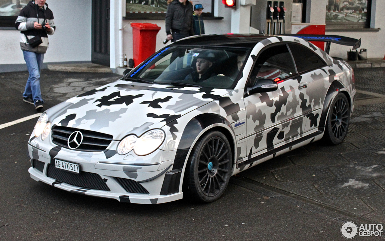 Mercedes benz clk 63 amg black series 27 march 2016 for Mercedes benz clk black series