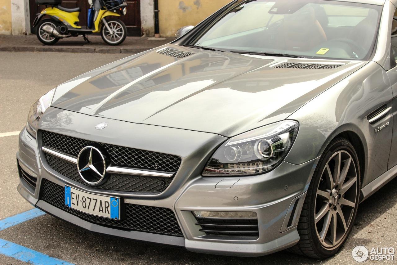 Mercedes benz slk 55 amg r172 28 march 2016 autogespot for 2016 amg slk55 mercedes benz