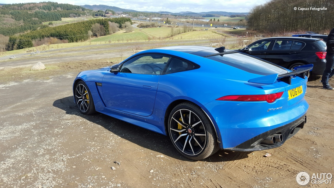 jaguar f type svr coup 29 march 2016 autogespot. Black Bedroom Furniture Sets. Home Design Ideas