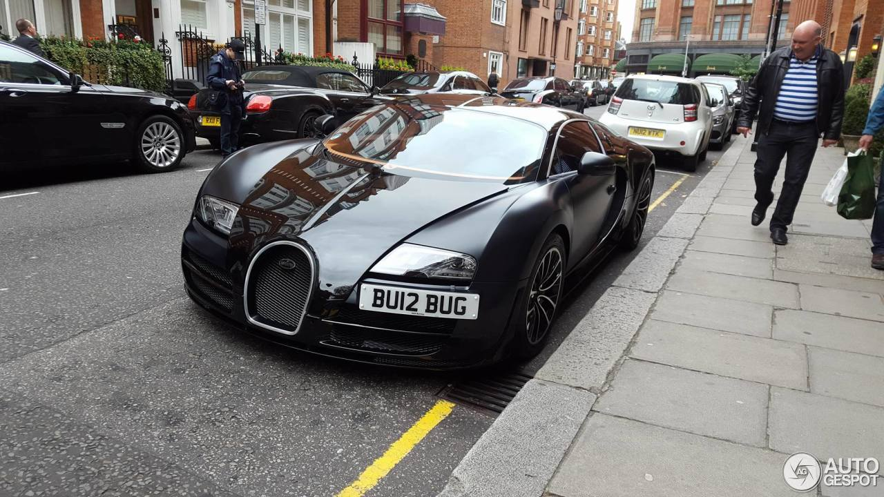 bugatti veyron 16 4 super sport sang noir 31 march 2016 autogespot. Black Bedroom Furniture Sets. Home Design Ideas