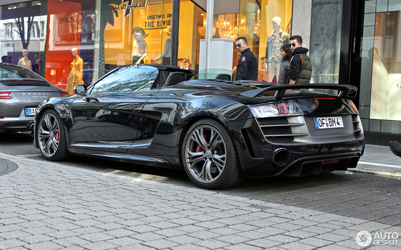 audi r8 gt spyder 1 april 2016 autogespot. Black Bedroom Furniture Sets. Home Design Ideas